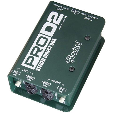 DI-Box/splitter Radial ProD2