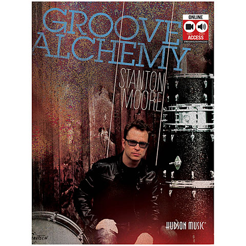 Libros didácticos Hudson Music Stanton Moore - Groove Alchemy