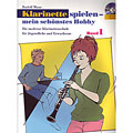 Podręcznik Schott Klarinette spielen - mein schönstes Hobby Bd.1