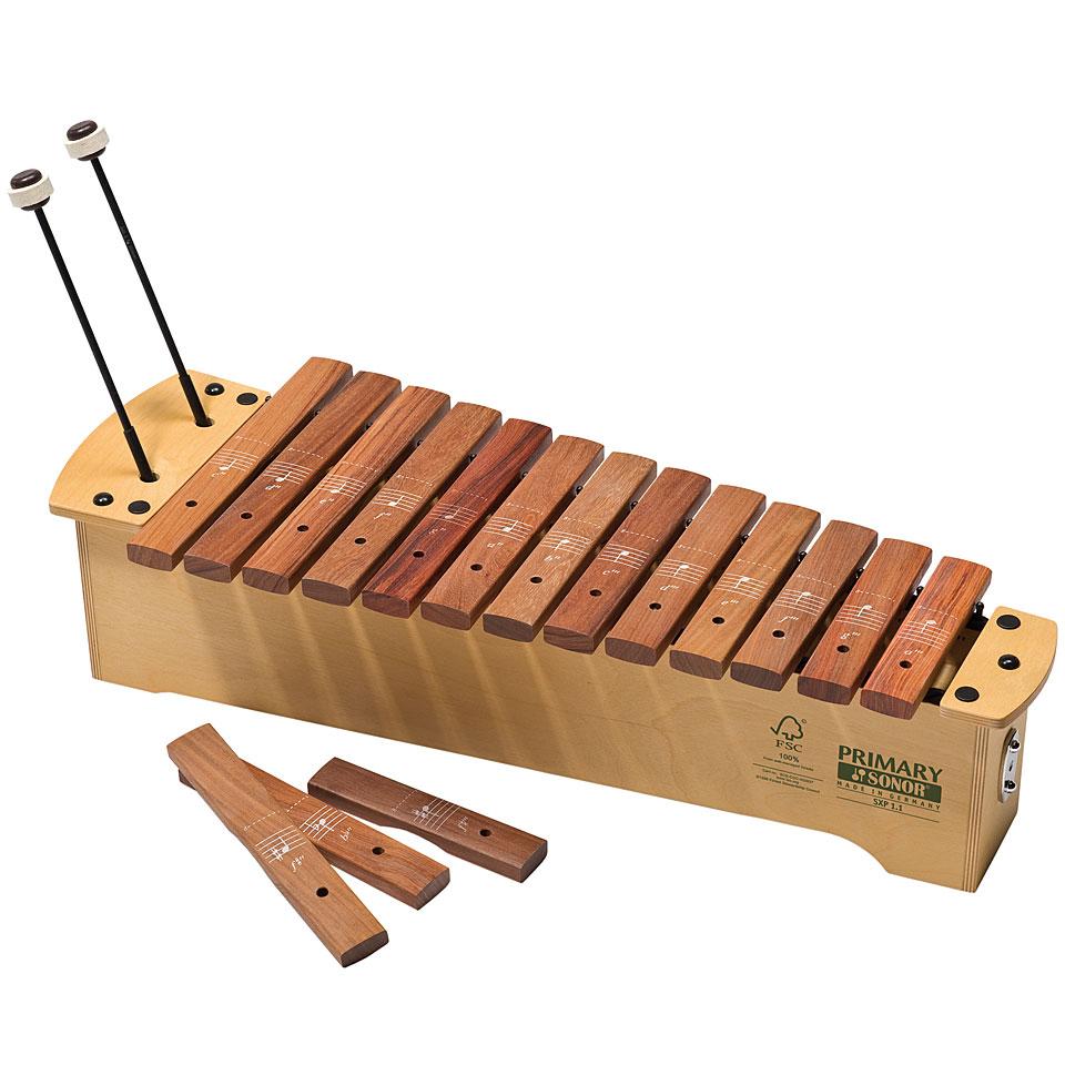 Orffscheinstrumente - Sonor Primary Sopran Xylophone SXP 1.1 Diatonic Xylophon - Onlineshop Musik Produktiv