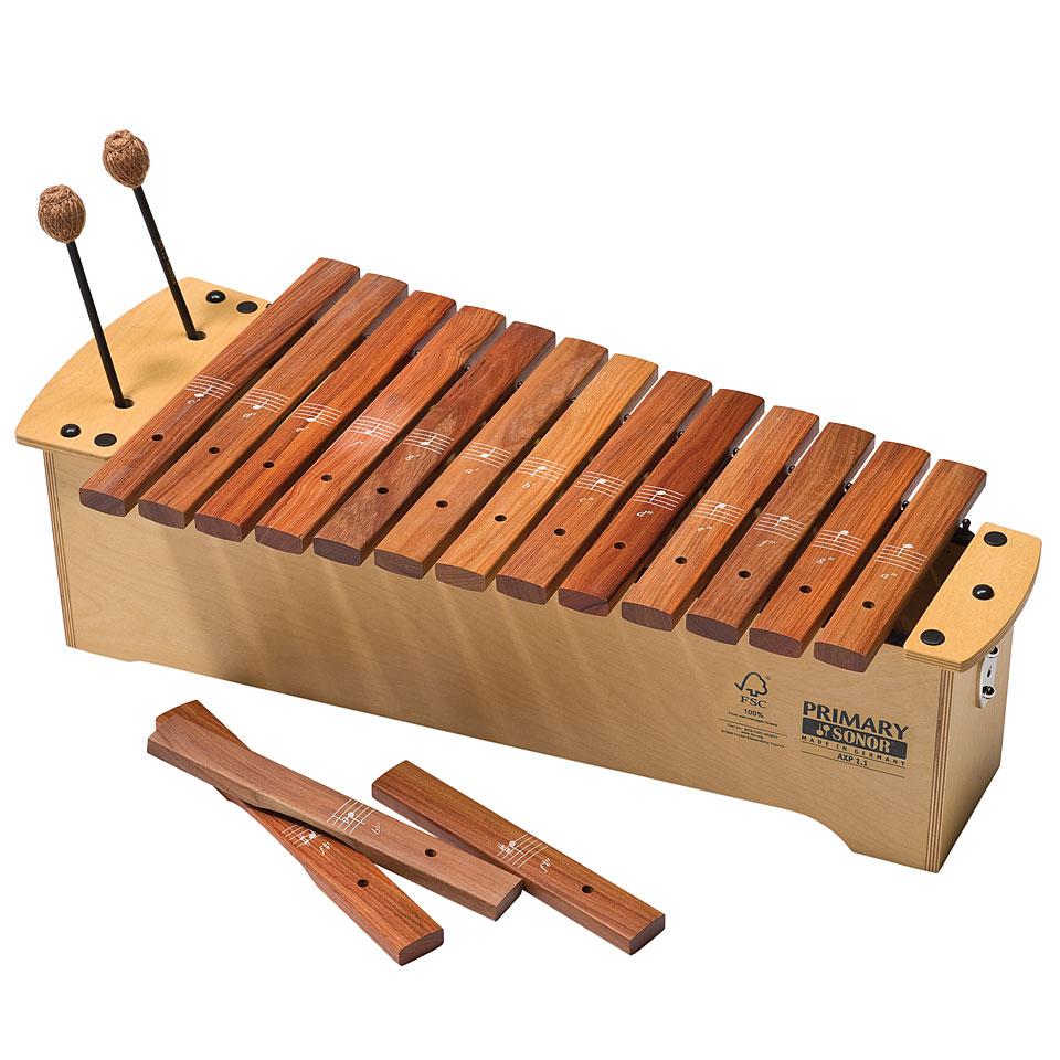 Orffscheinstrumente - Sonor AXP 1,1 Pao Rosa Xylophon - Onlineshop Musik Produktiv