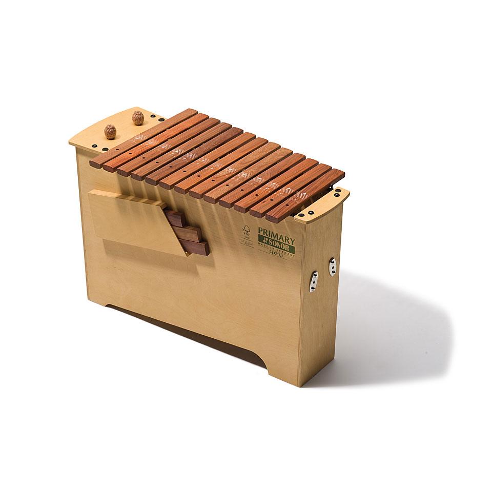 Orffscheinstrumente - Sonor Primary Deep Bass Xylophone GBXP 1.1 Diatonic Xylophon - Onlineshop Musik Produktiv