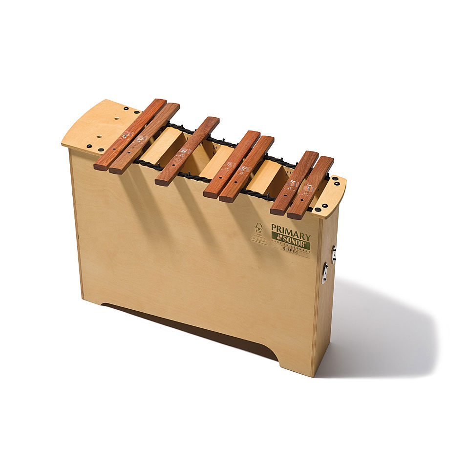 Orffscheinstrumente - Sonor Primary Deep Bass Xylophone GBXP 2.1 Chromatic Add On Xylophon - Onlineshop Musik Produktiv