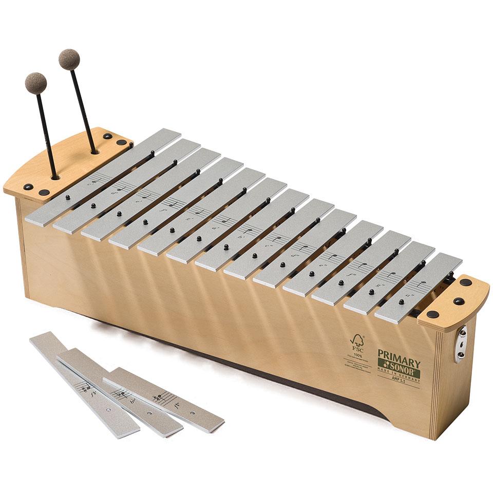 Orffscheinstrumente - Sonor Primary Alto Metallophone AMP 1.1 Diatonic Metallophon - Onlineshop Musik Produktiv