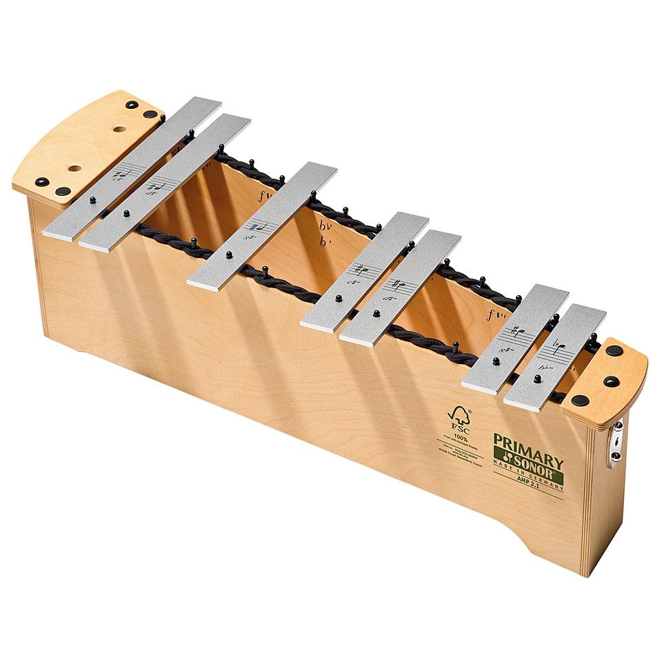 Orffscheinstrumente - Sonor Primary Alto Metallophone AMP 2.1 Chromatic Add On Metallophon - Onlineshop Musik Produktiv