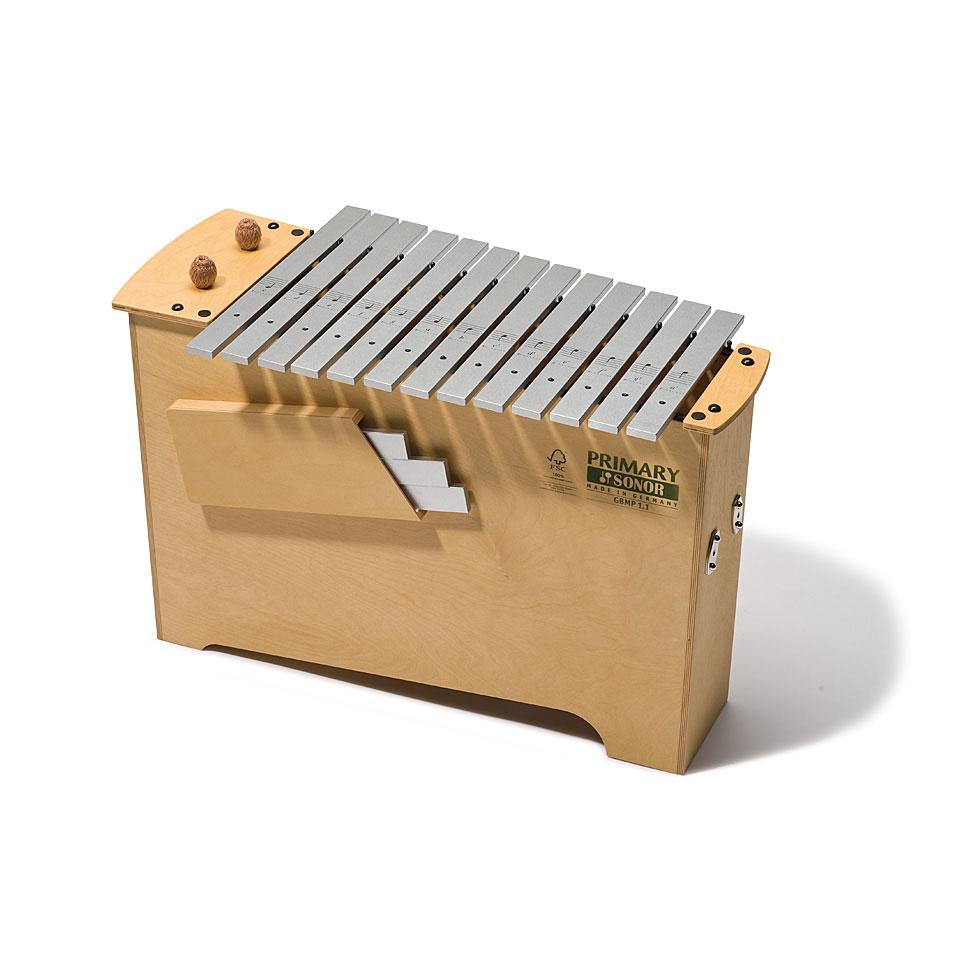 Orffscheinstrumente - Sonor Primary Deep Bass Metallophone GBMP 1.1 Diatonic Metallophon - Onlineshop Musik Produktiv