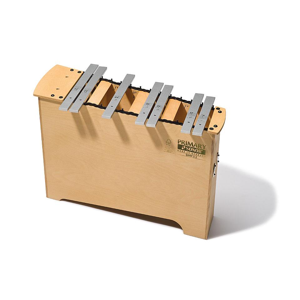 Orffscheinstrumente - Sonor Primary Deep Bass Metallophone GBMP 2.1 Chromatic Add On - Onlineshop Musik Produktiv