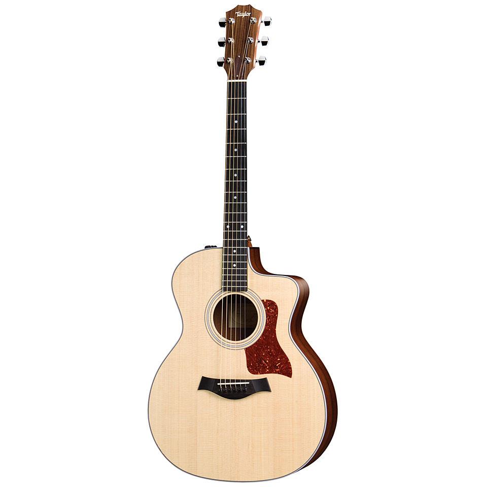 taylor 214ce acoustic guitar. Black Bedroom Furniture Sets. Home Design Ideas