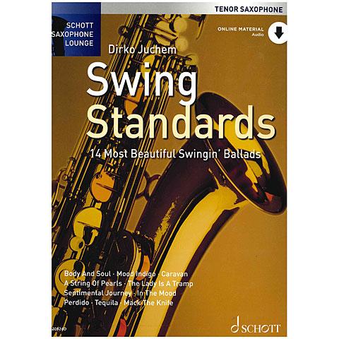 Libro de partituras Schott Saxophone Lounge - Swing Standards Tenor Sax
