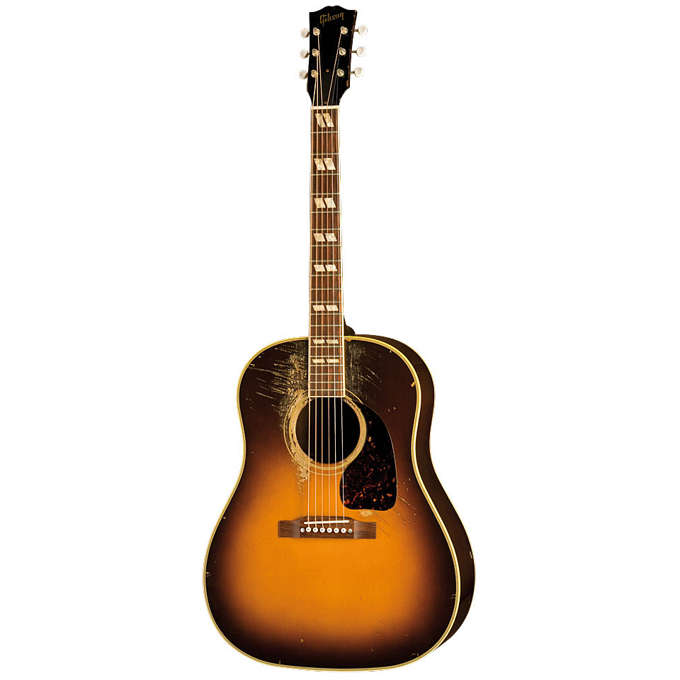 gibson artist aaron lewis aged acoustic guitar. Black Bedroom Furniture Sets. Home Design Ideas