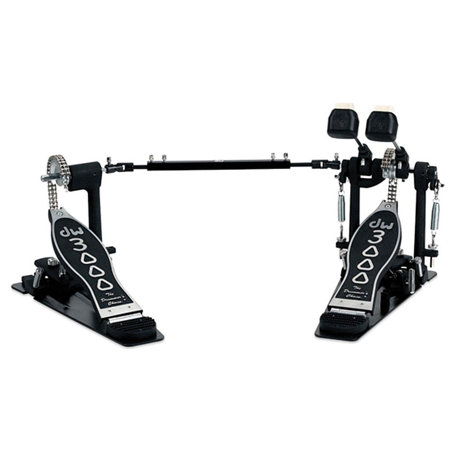 Drumhardware - DW 3000 Series Double Bass Drum Pedal Fußmaschine - Onlineshop Musik Produktiv