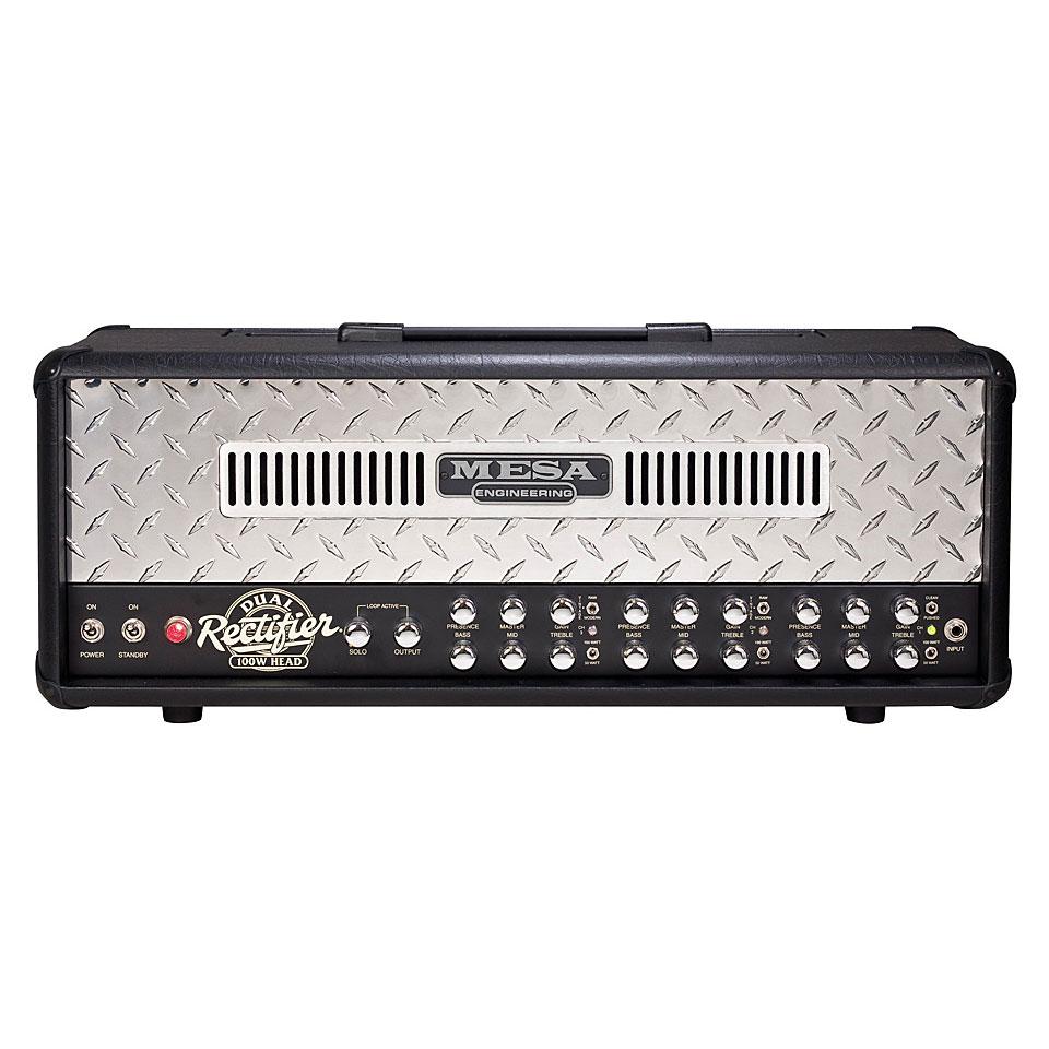 Mesa boogie dual rectifier reborn cabezal guitarra for Amplificadores mesa boogie