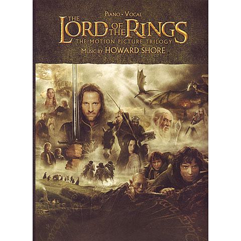 Songbook Alfred KDM The Lord Of The Rings Trilogy