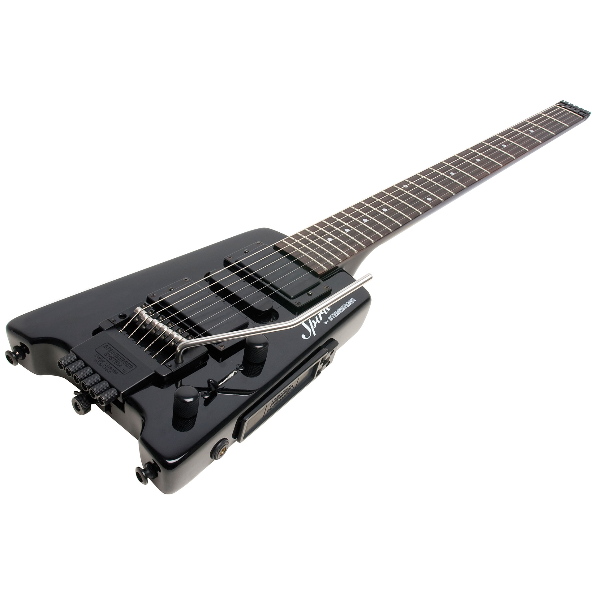 Steinberger Spirit Gt Pro Deluxe Bk 171 Electric Guitar