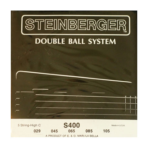 Saiten E-Bass Steinberger Double Ball 5-String High C