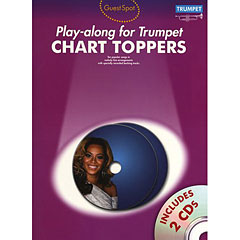 Music Sales Chart Toppers - Play-along for Trumpet « Play-Along