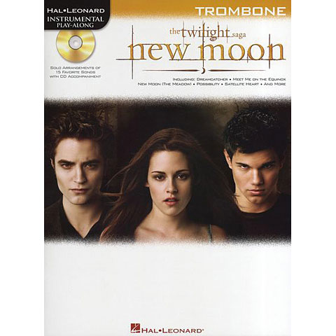 Play-Along Hal Leonard Twilight New Moon for trombone