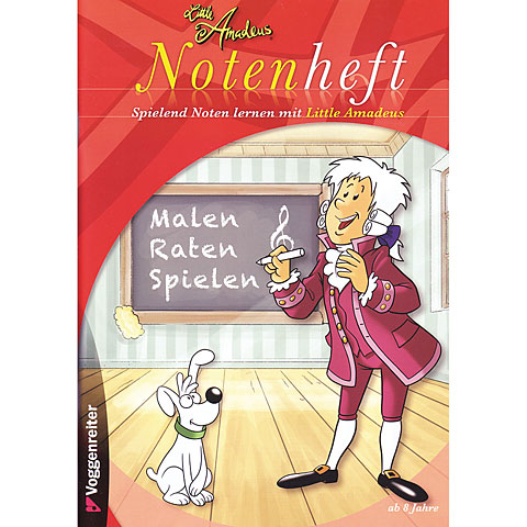 Teoria musical Voggenreiter Little Amadeus Notenheft