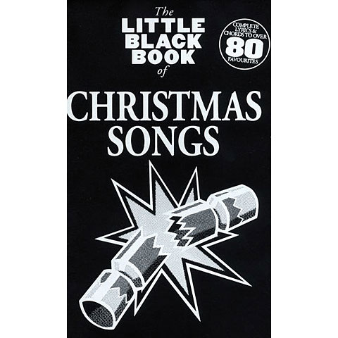 Songbook Music Sales The Little Black Book of Christmas Songs