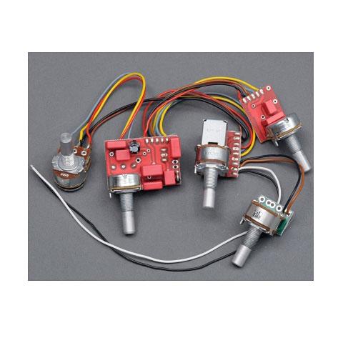 Pickup electronica Glockenklang 3-Band Elektronik