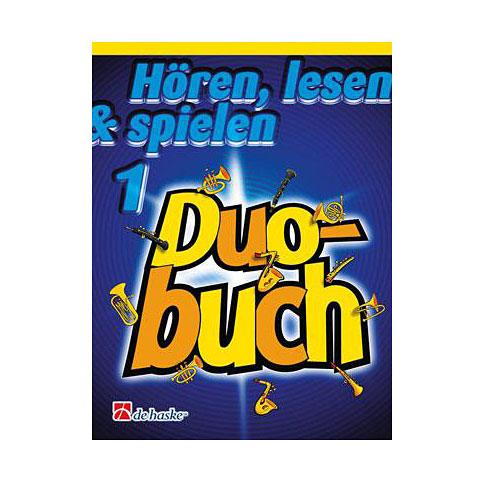 Notenbuch De Haske Hören, lesen & spielen 1 - Duobuch für Klarinette