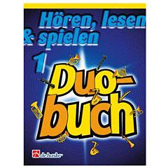 De Haske Hören, lesen & spielen 1 - Duobuch für Klarinette « Libro de partituras