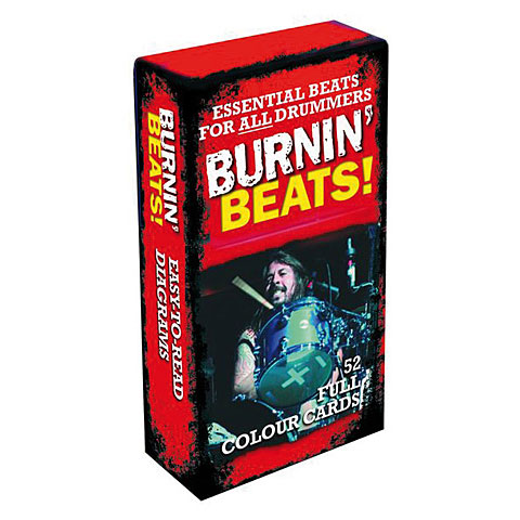 Music Sales Burning Beats! Cards