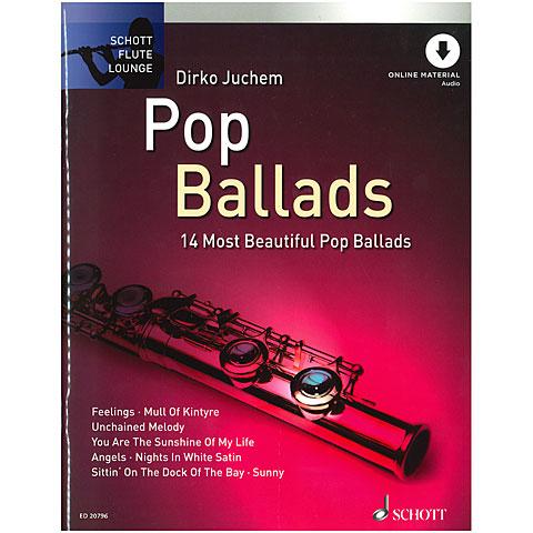Notenbuch Schott Flute Lounge Pop Ballads