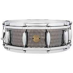 "Gretsch Drums Full Range 14"" x 5"" Hammered Black Steel Snare « Caisse claire"