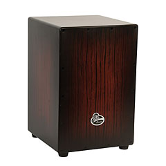 Latin Percussion Aspire Accents Dark Wood Streak Wire Cajon « Cajón flamenco