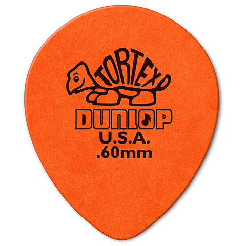 Dunlop Tortex TearDrop 0,60mm (72Stck)