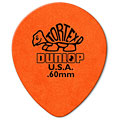 Púa Dunlop Tortex Teardrop 0,60 mm (72 pcs)