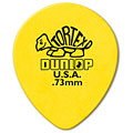 Púa Dunlop Tortex Teardrop 0,73 mm (72 pcs)