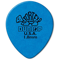 Dunlop Tortex Teardrop 1,00 mm (72 pcs) « Púa