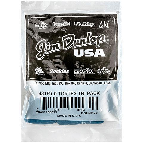 Púa Dunlop Tortex Triangle 1,00 mm (72 pcs)
