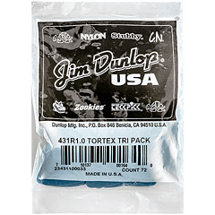 Dunlop Tortex Triangle 1,00 mm (72 pcs) « Púa