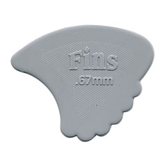 Dunlop Nylon Fins 0,67mm (72Stck) « Plektrum
