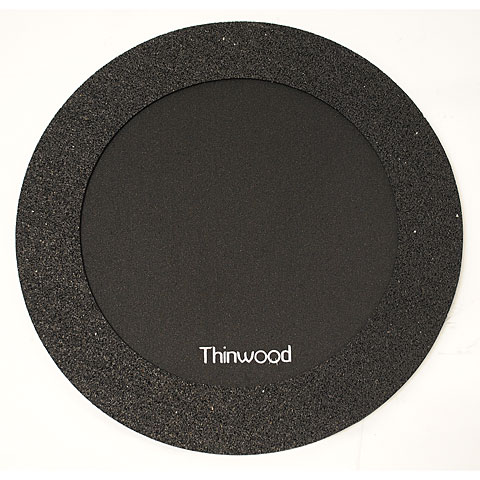 "Übungspad Thinwood Snare Drum Damper Pad 14"" with Fleece"