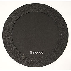 "Thinwood Snare Drum Damper Pad 14"" with Fleece « Pad d'entraînement"