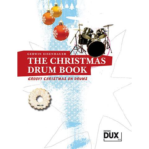 Libro de partituras Dux The Christmas Drum Book