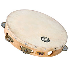 Latin Percussion CP CP379 Wood Headed Tambourine « Tamboerijn