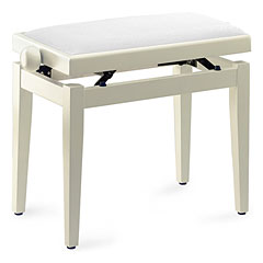Collins PB 100 WH Polished « Piano Bench