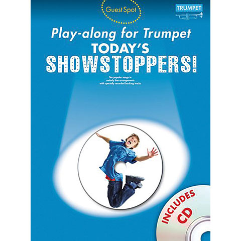 Music Sales Today's Showstoppers - Playalong for Trumpet