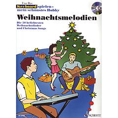 Schott Keyboard spielen - mein schönstes Hobby Weihnachtsmelodien « Notenbuch