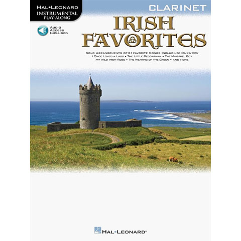 Hal Leonard Irish Favorites for Clarinet