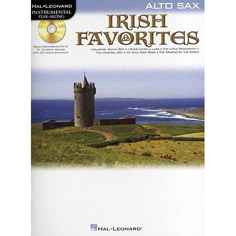Play-Along Hal Leonard Irish Favorites for Alto Sax