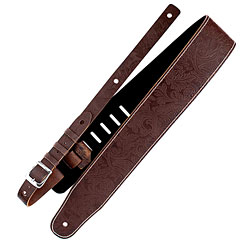 Richter Luxury Floral Brown « Guitar Strap