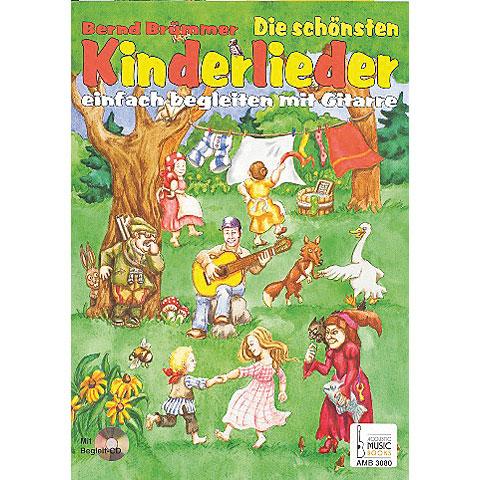 Libro de partituras Acoustic Music Books Die schönsten Kinderlieder einfach begleiten