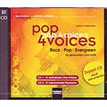 CD Helbling Pop 4 Voices, Audio Cds