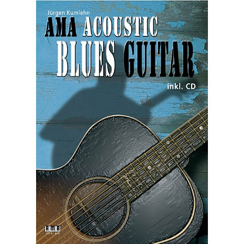 Libros didácticos AMA Acoustic Blues Guitar